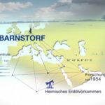 Eine karge Winterlandschaft. Eine 2D Animation zeigt Teile Russlands. Screenshot eines Erklärfilmes zum Thema Forschung und Wissenschaft bei der BASF Gruppe realisiert durch die Filmproduktion Karlsruhe mp-film.
