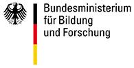 Das Bild zeigt das Logo des Bundesministerium für Bildung und Forschung einem Kunden der Filmproduktion Karlsruhe mp-film.