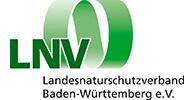 Logo des Landesnaturschutzverband Baden-Württemberg. Der Verband ist Kunde der Filmproduktion Karlsruhe mp-film.