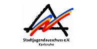 Logo des Stadtjugendausschuss Karlsruhe. Die STJA ist Kunde der Filmproduktion Karlsruhe mp-film.